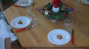One cookie per chid - Christmas at the Kindergarten