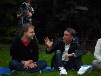 With N. Veresov, Podevniki, Russia/ ISCAR Summer University 2011